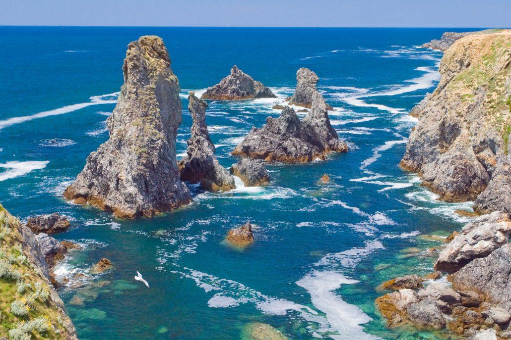 Naviguez en bateau moteur au d part de quiberon et d couvrez un site exceptio - Architecte belle ile en mer ...