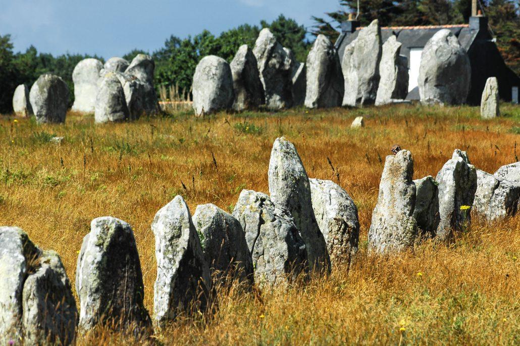 Menhirs : Alignements de Carnac