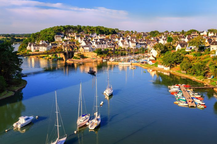 Port du Bono, Golfe du Morbihan, Morbihan, Bretagne