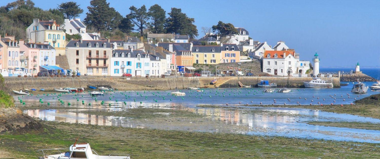 Port de Sauzon, Belle île en mer, Morbihan, Bretagne